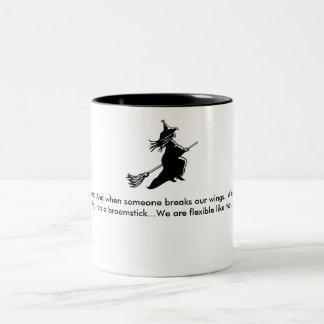 Women are angels..mug Two-Tone coffee mug