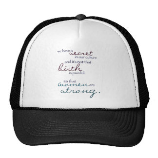 women are strong cap