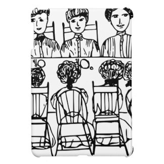 Women at a Dinner Party iPad Mini Cover