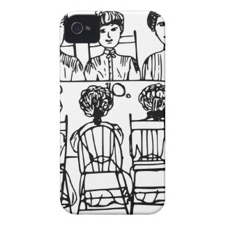 Women at a Dinner Party iPhone 4 Covers
