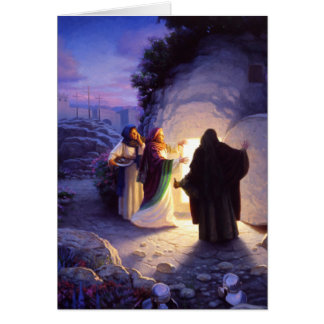 Women At The Empty Tomb Easter Card