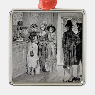 Women at the Polls in New Jersey Ornament