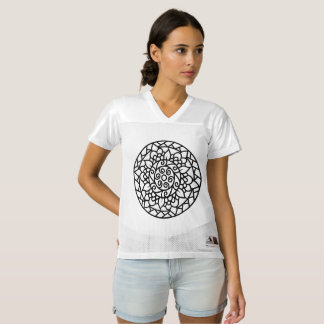 Women augusta T-Shirt with mandala art