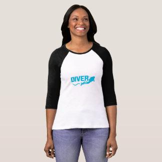 Women Divers Athlete T Shirt