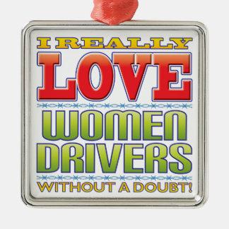 Women Drivers Love Ornaments