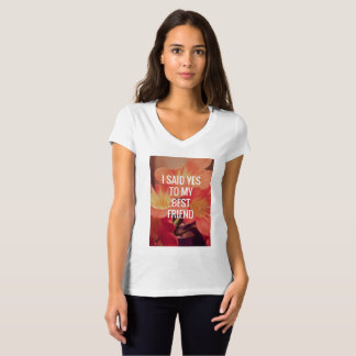 Women engagement t-shirt