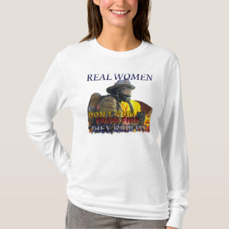 Women FireFighter Longsleeve Shirt