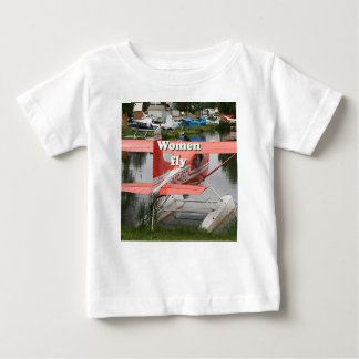 Women fly: float plane 23, Alaska Baby T-Shirt