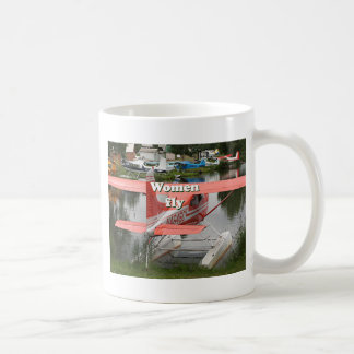 Women fly: float plane 23, Alaska Coffee Mug