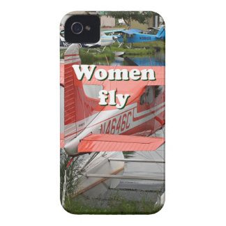 Women fly: float plane 23, Alaska iPhone 4 Cover