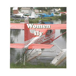 Women fly: float plane 23, Alaska Notepad