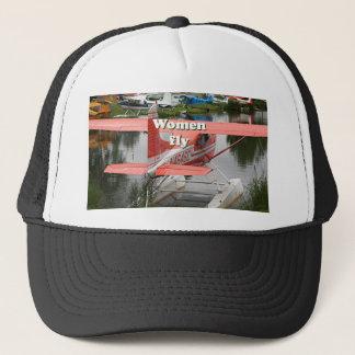 Women fly: float plane 23, Alaska Trucker Hat