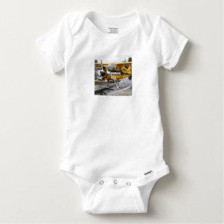Women fly: float plane, Lake Hood, Alaska Baby Onesie
