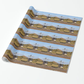 Women fly: Helicopter (white) 2 Wrapping Paper
