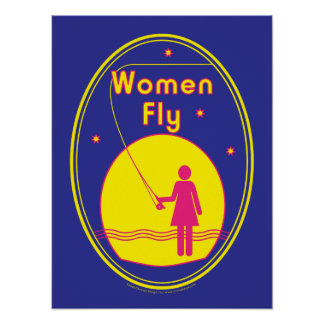 Women Fly poster