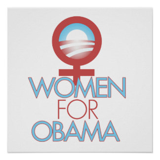 Women for Barack Obama 2012 Posters