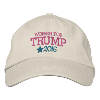 Women for Donald Trump - President 2016 Embroidered Hats