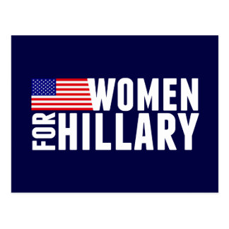 Women For Hillary Postcard