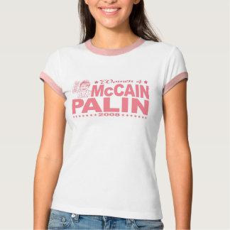 Women for McCain Palin 2008 Shirt