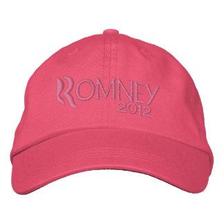 Women for Mitt Romney 2012 Embroidered Baseball Cap