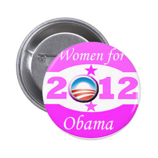 Women for Obama Buttons