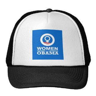 women for obama dark shirt trucker hats
