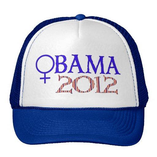 WOMEN FOR OBAMA MESH HAT