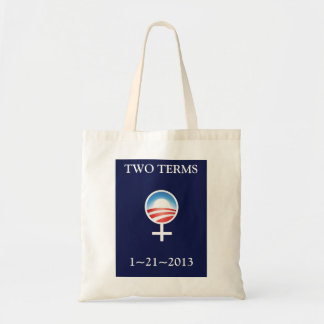 Women for Obama Inauguration Commemorative Tote Budget Tote Bag