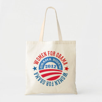Women For Obama-Obama Biden 2012 Tote Bag