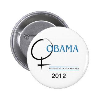 Women for Obama pin