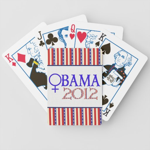 WOMEN FOR OBAMA BICYCLE CARD DECK