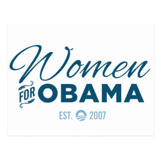 Women for Obama Postcard