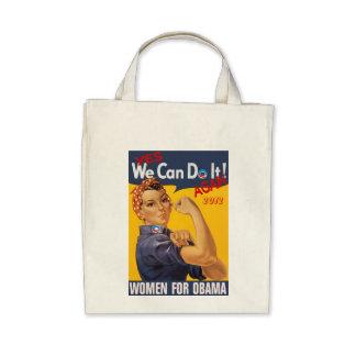 Women For Obama Retro Bag