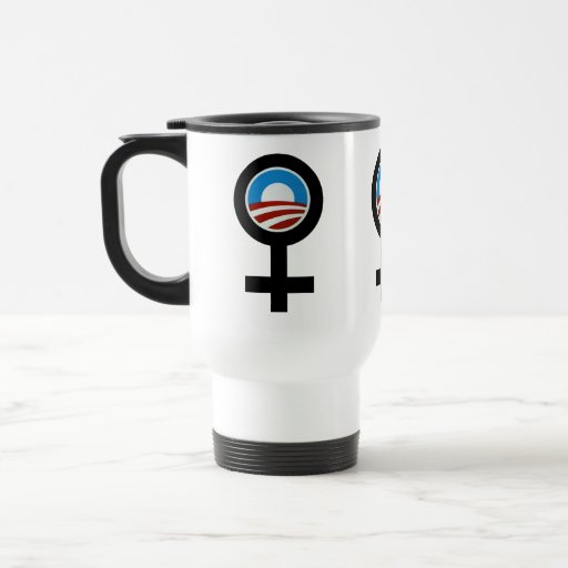 Women For Obama Synbols Coffee Mugs