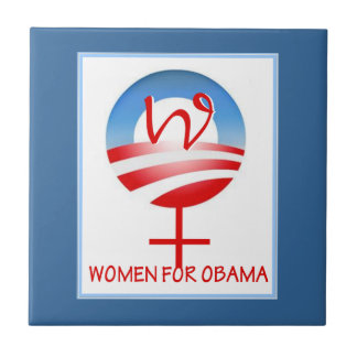 Women for Obama tile