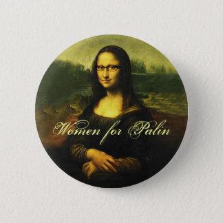Women for Palin 2008 6 Cm Round Badge
