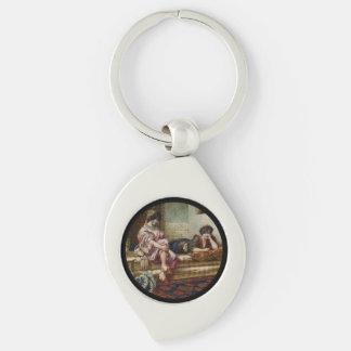Women Friends in a Harem Key Ring