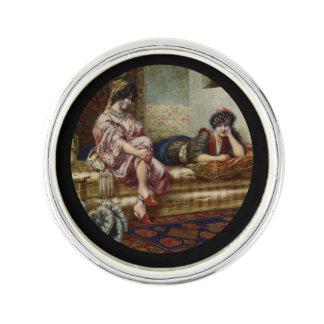 Women Friends in a Harem Lapel Pin