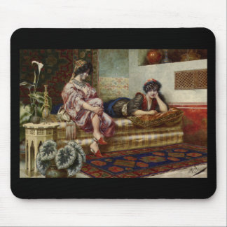 Women Friends in a Harem Mouse Pad
