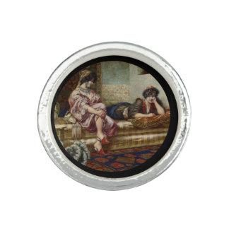Women Friends in a Harem Ring