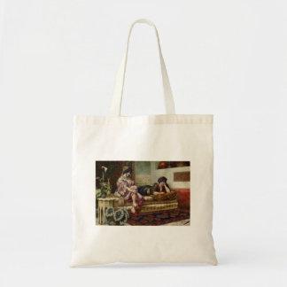 Women Friends in a Harem Tote Bag