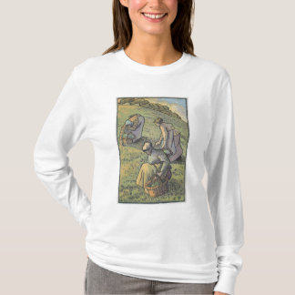 Women Gathering Mushrooms, from 'Travaux des Champ T-Shirt