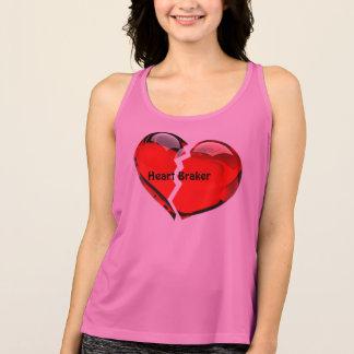 Women Heart Braker Work Out T Singlet