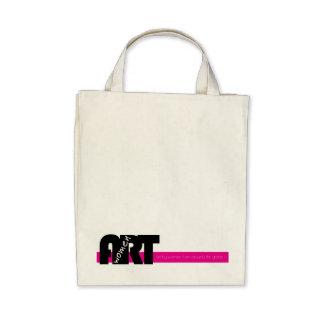 Women in Art: Organic Grocery Tote Bag