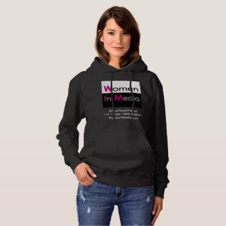 Women In Media Long Sleeve Sweat Shirt Black