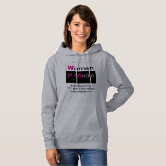 Women In Media Long Sleeve Sweat Shirt Grey