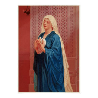 Women In The Bible - Mary (Mother of Jesus) Print