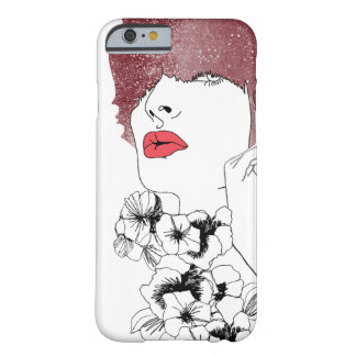 Women in the flowers. barely there iPhone 6 case