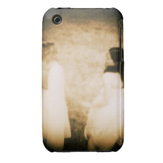 Women in white gowns Case-Mate iPhone 3 cases
