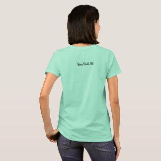 women large basic t-shirt blue